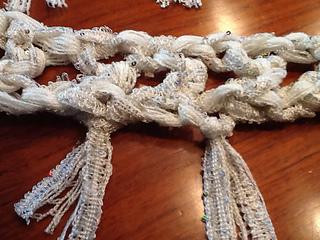Ravelry: Super Easy Scarf using Ruffle Yarn pattern by