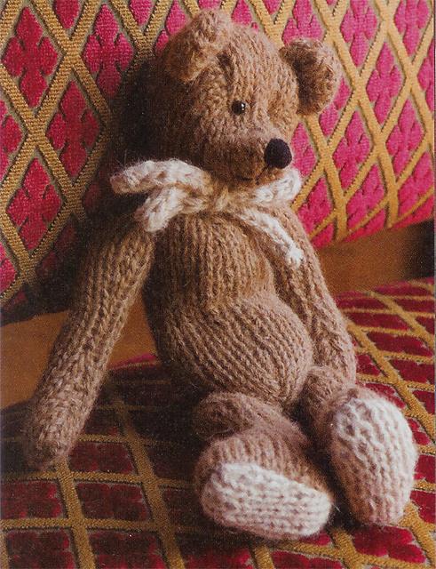 Ravelry: Classic Teddy Bear pattern by Mary Ann Gebhardt
