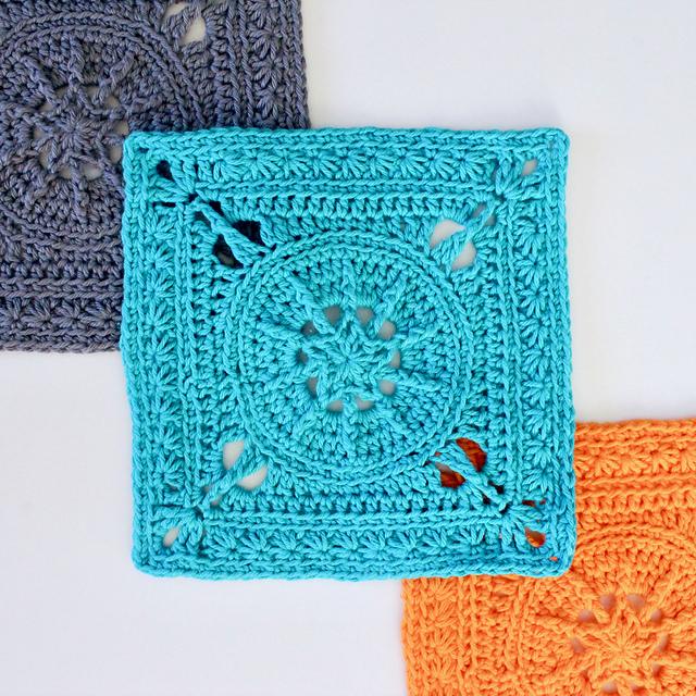 Ravelry Tiny Star Square Pattern By Mikaela Bates