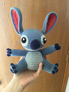 Ravelry: Amigurumi Stitch! from Lilo and Stitch pattern by ...