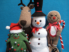 Amigurumi Christmas Patterns : Ravelry christmas amigurumi ebook patterns