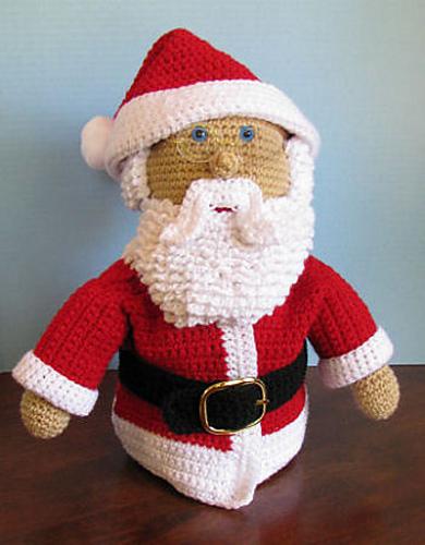 Ravelry Santa Claus Crochet Doll Pattern By Cl Halvorson