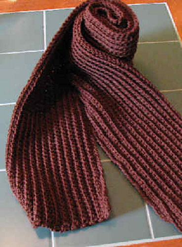 Ravelry Ribbed Scarf Pattern By Cl Halvorson