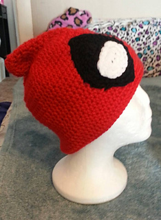 Ravelry  Sassy Deadpool Hat pattern by MisoKawaii Crochet d47a8cab76d