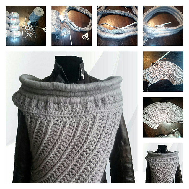 Ravelry Katniss Inspired Cowl Pattern By Missbackxels By Lee Backx