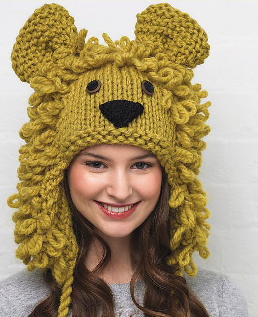 Ravelry animal hats 15 patterns to knit and show off patterns lion hat dt1010fo