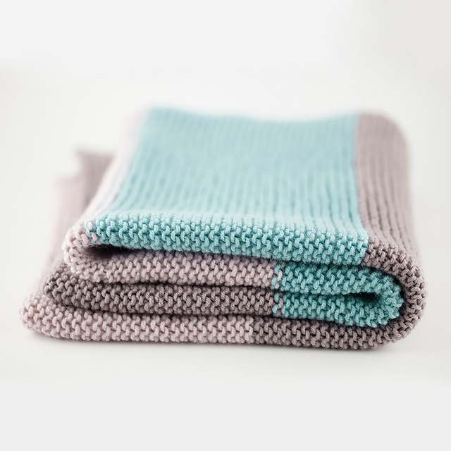 Ravelry: Simple Baby Blanket pattern by The Woven
