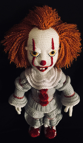 Ravelry Bad Clown Pattern By Melinda Kindley