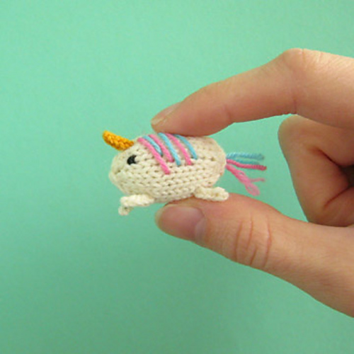 Ravelry Tiny Unicorn Pattern By Anna Hrachovec