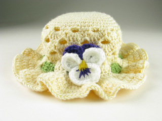 Carrie-wolf-modern-needlepoint-crochet-pansy-easter-bonnet-hat-toddler-5595_small2