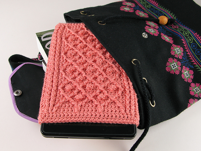 Ravelry Kindle Fire Cover Crochet Rose Trellis Pattern Pattern By