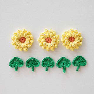 Crochet-flowers-sunflower-crochet-pattern-heart-leaf-crochet-pattern_small2