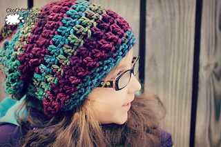 Ravelry  Easy Peasy Chunky Slouch Hat pattern by Michelle Ferguson 5843588419c