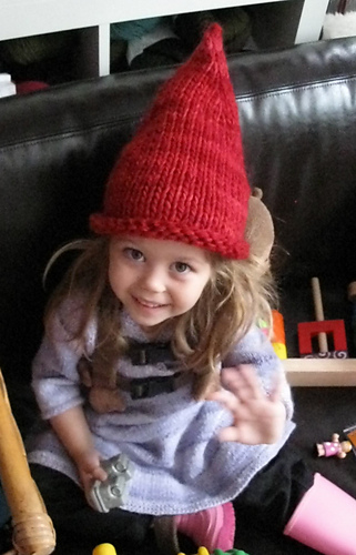 1eb4c61c Ravelry: Pointy Elf Hat pattern by Joelle Hoverson