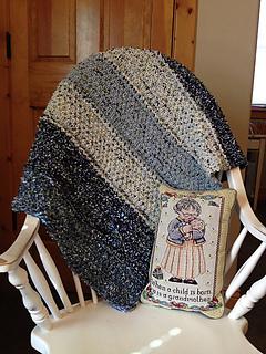 Big Sky Baby Blanket pattern by Montana Jo