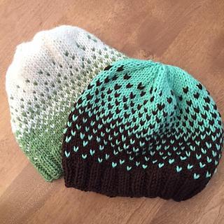 Ravelry  Quick Ombré Hat pattern by Emily Dormier a83d4695665
