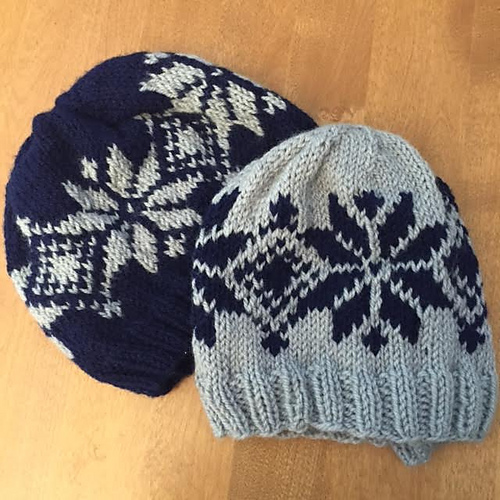 Ravelry stars and diamonds hat pattern by emily dormier dt1010fo