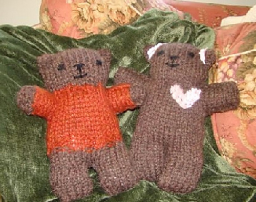 Ravelry Fast And Easy Teddy Bear Pattern By Knit For Peace