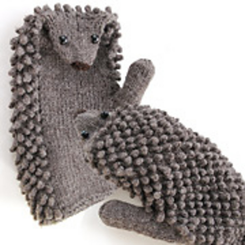 Ravelry Hedgehog Mitts Pattern By Morehouse Designs