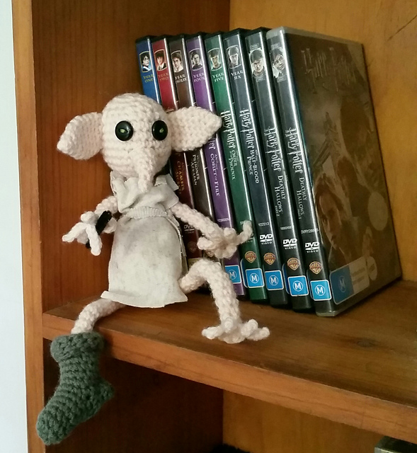 Ravelry Harry Potter Inspired Dobby Pattern By Anita George