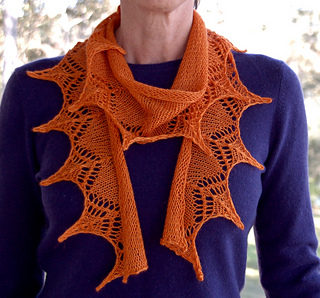 Ravelry 1 Ball 4 Ply Lace Scarf Pattern By Mrs Rose Designs