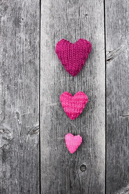 Ravelry Knit Hearts Pattern By Ms Ellaneous