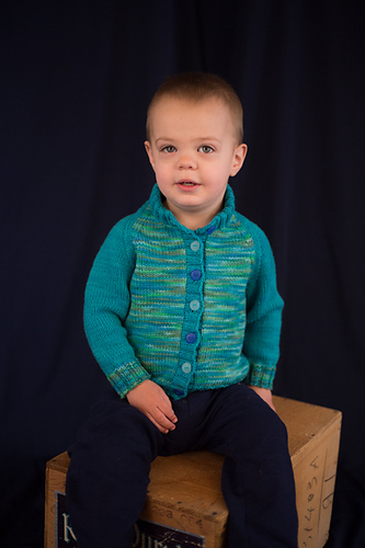 Kid\'s Block Cardigan PDF