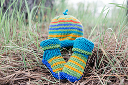 Kaleidoscope Hat & Booties PDF