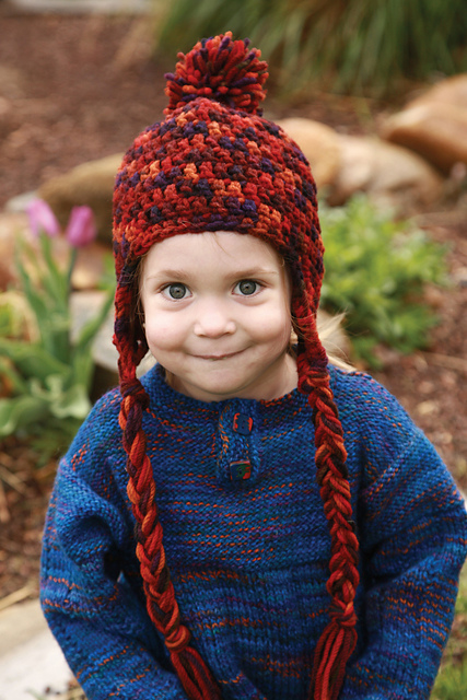 Ravelry Crocheted Kids Hat Pattern By Becky Rodgers