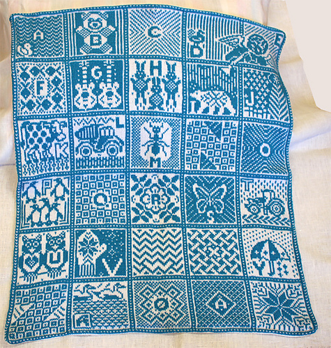 Ravelry Norwegian Alphabet Blanket Pattern By Jorid Linvik