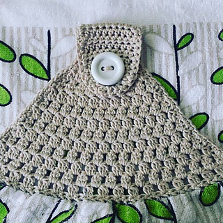 Ravelry Simple Towel Topper Pattern By Buttonnose Crochet