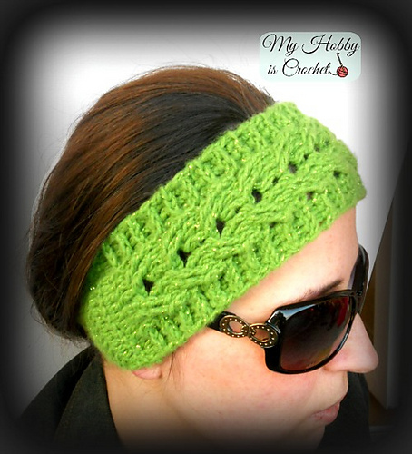 Ravelry: Cable Headband Easy Fit pattern by Kinga Erdem