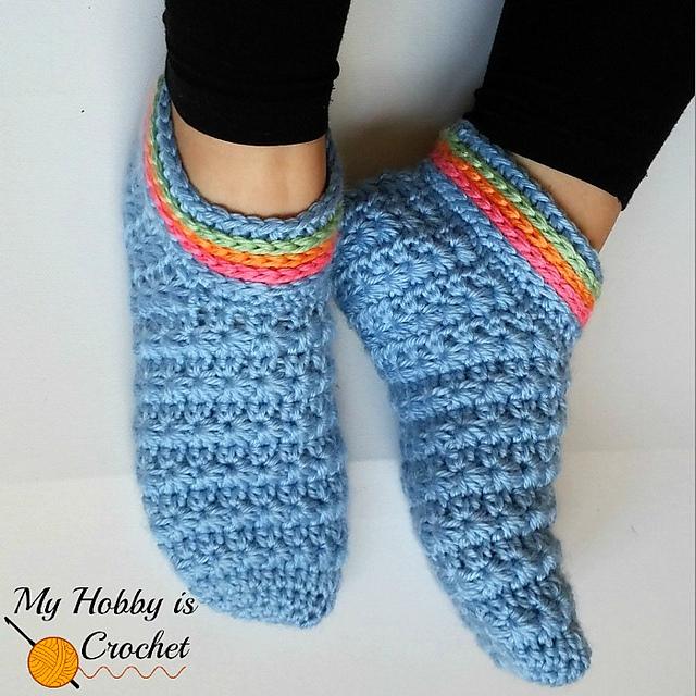 Ravelry: Starlight Women Slippers pattern by Kinga Erdem