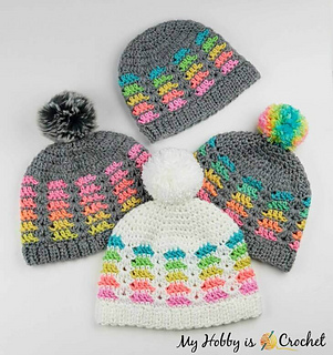 b291a114a6b patterns   My Hobby is Crochet.   Prisma Hat