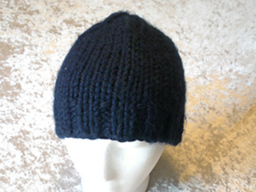 Ravelry Thick And Quick Watch Cap In Two Ways Pattern By Mylyne De
