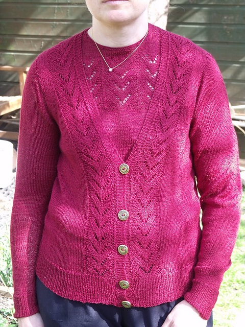 336e067ef1dc77 audrey leaf pattern sweater get cheap dac16 448b9 - xigubonews.com