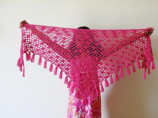 Ravelry Tyra Triangle Shawl Pattern By Crochetdreamz