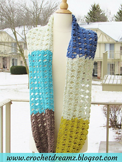 Ravelry Kaleidoscope Infinity Scarf Pattern By Crochetdreamz