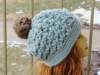 151aeb328ba Ravelry  Winter Blossom Beanie or Slouch pattern by CrochetDreamz