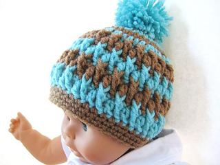 Ravelry  Pom Pom Beanie pattern by CrochetDreamz 1840e4d3ae3