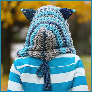 Crochet Blanket With Cat Ears