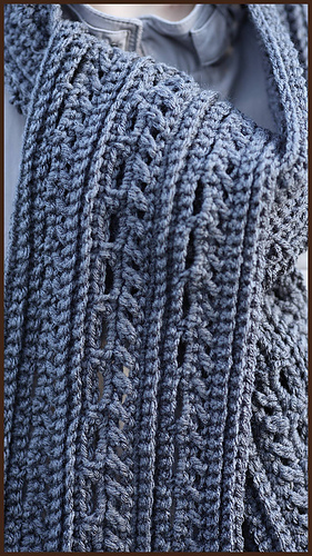 Ravelry Gentlemans Scarf pattern by Nadia Fuad