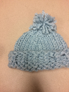 63626d82bc05 Ravelry  knit a baby hat in one hour pattern by AllFreeKnitting