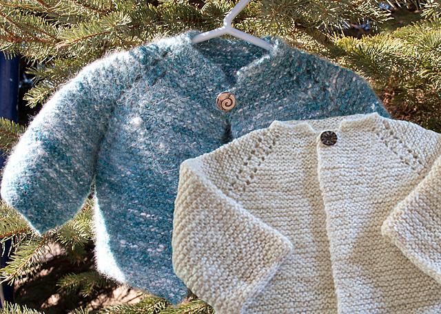 Ravelry Top Down Garter Stitch Baby Jacket Pattern By Nancy
