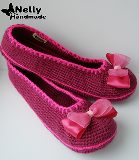 Ravelry Ballerina Slippers Pattern By Nelly Handmade
