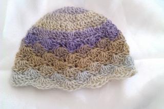 Ravelry  Any Size Shell Stitch Hat pattern by Eleanor Thomson 15a5b8e00b8