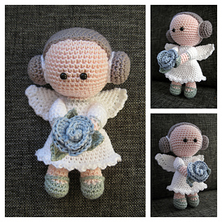 Ravelry Flower Angel Pattern By Janet Rozenberg Nennedesign