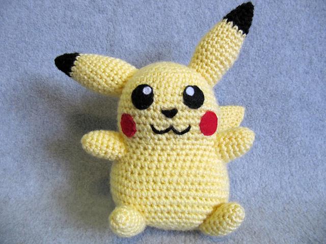 Ravelry: Pikachu Pokemon pattern by The Nerdy Knitter