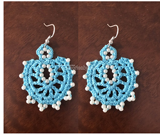 Ravelry Beaded Earrings Pattern By Nez Jewelry