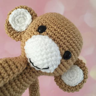 Ravelry: Monkey curtain tie back pattern by Nice and Cosee
